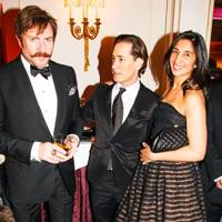 Simon Le Bon, Ryan Prince and Noreen Goodwin