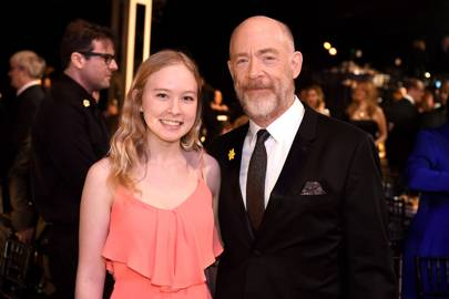Olivia Simmons and J. K. Simmons