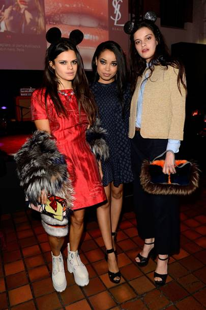Bip Ling, Dionne Bromfield and Evangeline Ling