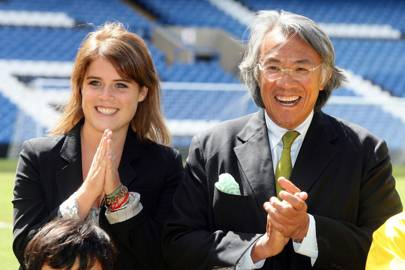 Princess Eugenie and Sir David Tang, 2013