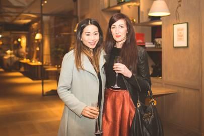 Nina Tsang and Sarah Penny