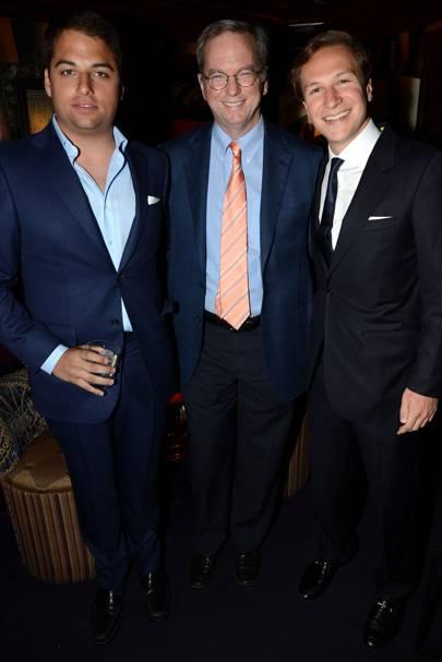 James Reuben, Eric Schmidt and Dave Clark
