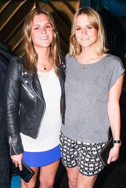 Amelia Hazlerigg and Eliza Hazlerigg
