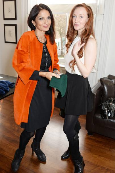 Yasmin Mills and Olivia Grant