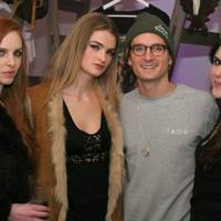Eleanor Cooper, Georgia Davies, Oliver Proudlock and Lexi Abrams
