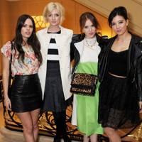 Atlanta de Cadenet-Taylor, Sophie Sumner, Angela Scanlon and Daisy Lowe