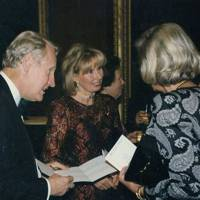 Lord Selkirk of Douglas, Lady Selkirk of Douglas and Mrs Britt Tidelius