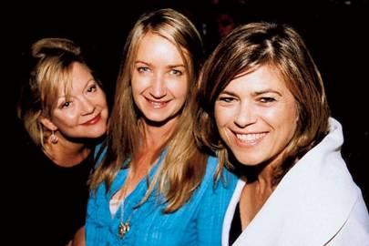 Kay Saatchi, Anya Hindmarch and Mrs John Standing