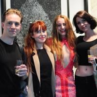 Walter Hugo, Zoniel Burton, Millie Brown and Sara Rourke