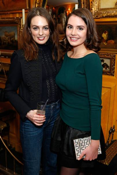 Lady Violet Manners and Genevieve Gaunt