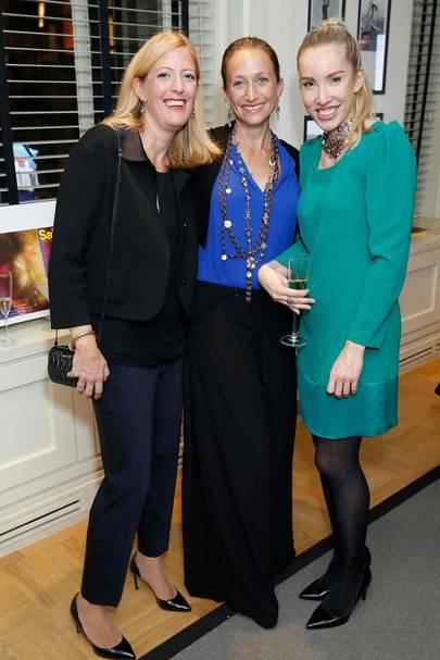 Carolin Wegerer, Céline Cousteau and Nina Baumann