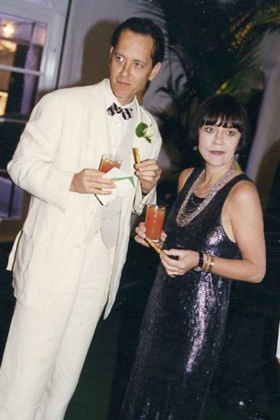 Richard E. Grant and Joan Washington