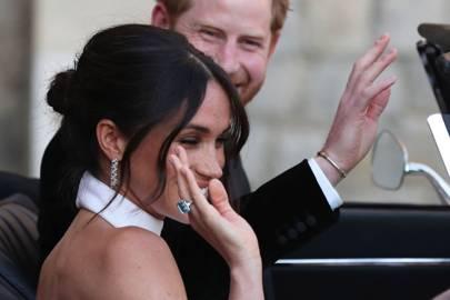 Princess Diana's Asprey aquamarine ring