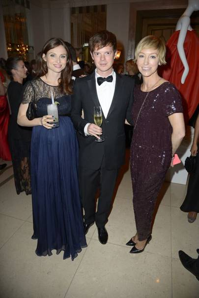 Sophie Ellis-Bextor, Richard Jones and Jo Elvin
