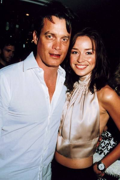 Matthew Mellon and Noelle Reno