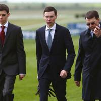 Donnacha O'Brien, Joseph O'Brien and Aidan O'Brien