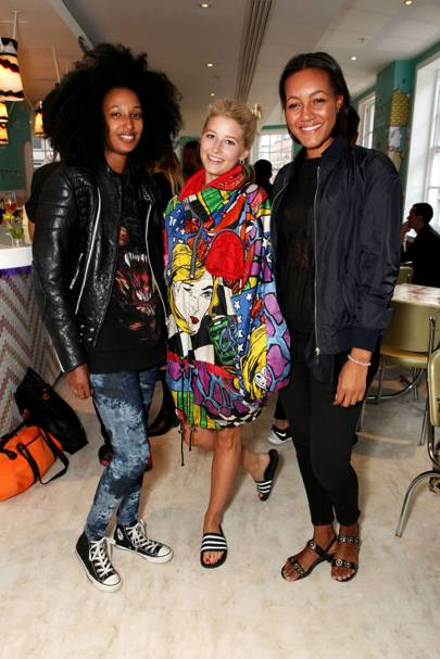 Julia Sarr-Jamois, Phoebe-Lettice Thompson and Alice Casely-Hayford