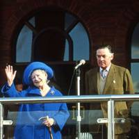 The Queen Mother and Lord Vestey