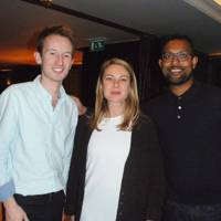 Matthew Bell, Alice Edwards and Tardeo Ajodha
