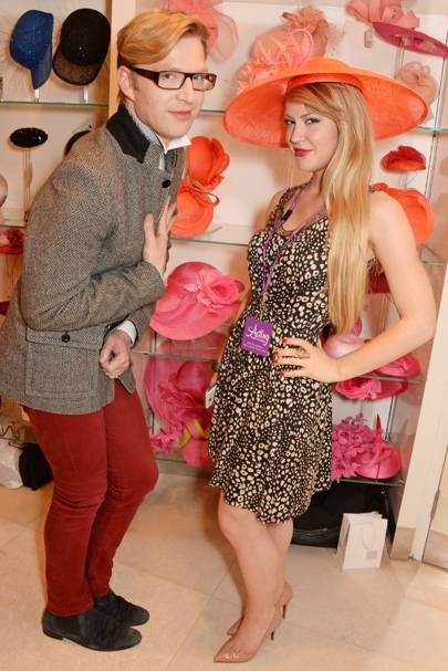 Henry Conway and Camilla Kerslake