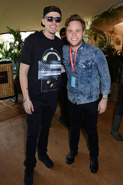 Professor Green and Olly Murs