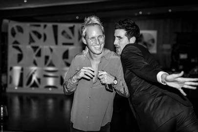 Jamie Laing and Oliver Hadden-Paton