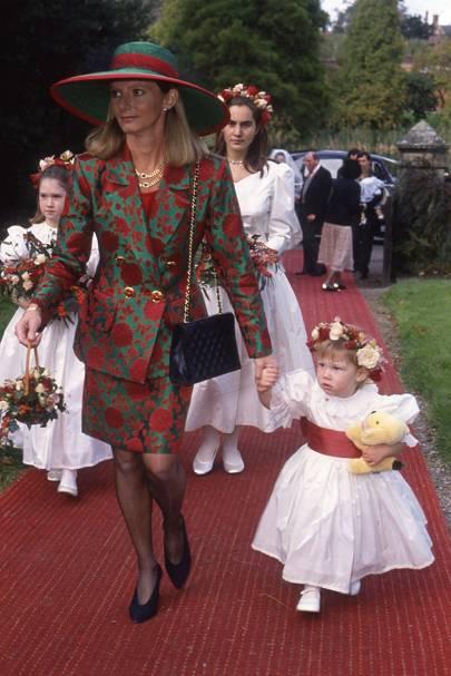 The Countess of Bradford, Tara Garnell, Larissa Howard and Lady Alicia Bridgeman