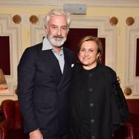 Patrick Kinmonth and Silvia Venturini Fendi