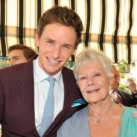 Eddie Redmayne and Judi Dench
