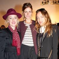 Matilda Temperley, Jacquetta Wheeler and Alice Temperley