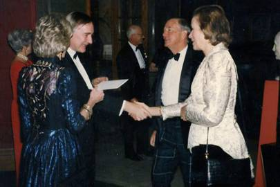 Lady Clifford, Timothy Clifford, John Drysdale and Mrs John Drysdale