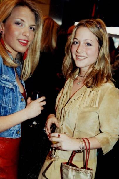Stephanie Coaten and Vanessa Garwood