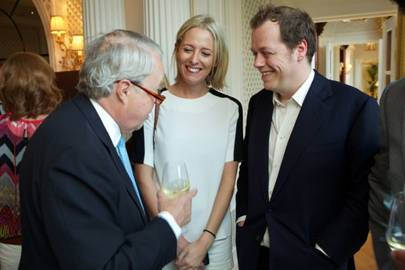 Earl De La Warr, Sophia Hesketh and Tom Parker Bowles