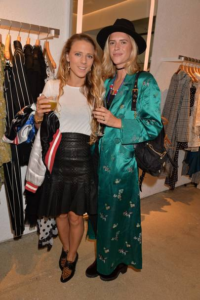 Sophie Moss and Annabel Simpson