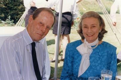 William M. Weaver and Princess George Galitzine