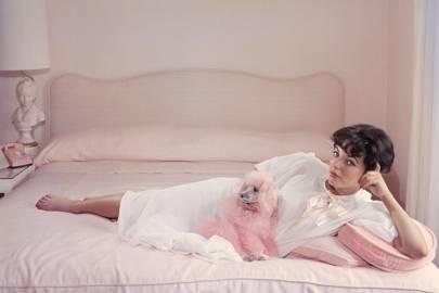 Joan Collins by Slim Aarons, circa 1955
