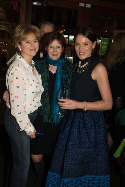 Rachel Kelly, Marjorie Wallace and Alice Mackintosh