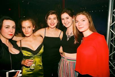 Zara Lumley, Eileen Water, Brooke Stewart, Ariana Brighenti and Kira Pustak