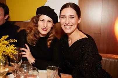 Charlotte Dellal and Emilia Wickstead