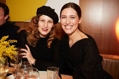 Charlotte Dellal and Emilia Wickstead
