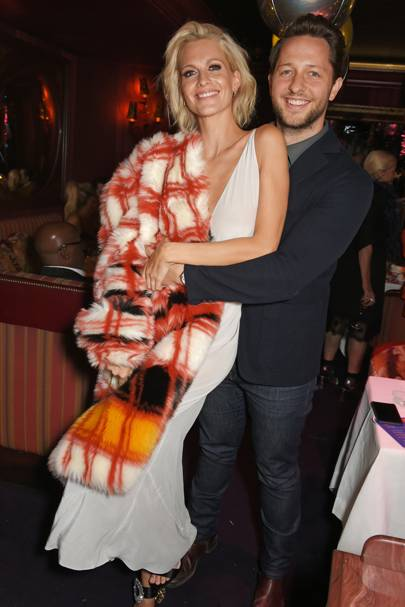 Poppy Delevingne and Derek Blasberg