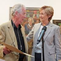 John Wonnacott and Sue Lawley