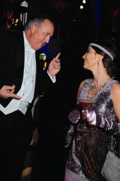 The Duke of Rutland and Sonia Saville