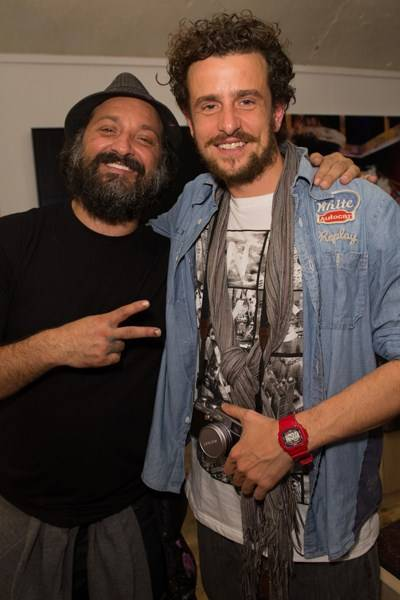 Mr Brainwash and Hamish Jenkinson