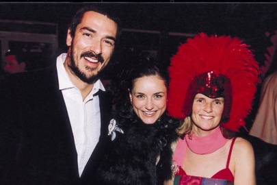Miguel Stanley, Clementine Mauleverer and Mrs Damian Cardozo
