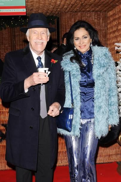 Bruce Forsyth and Wilhelmina Forsyth
