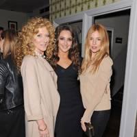 Kelly Hoppen, Natasha Corrett and Sienna Miller