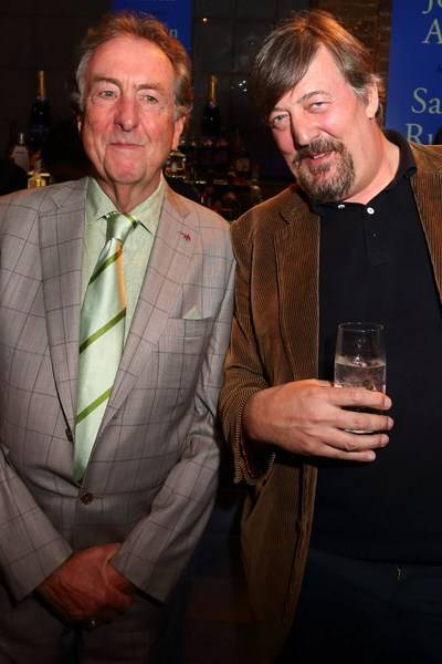 Eric Idle and Stephen Fry