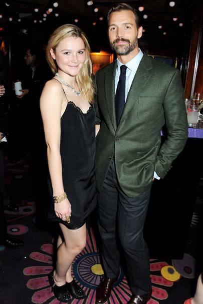 Amber Atherton and Patrick Grant