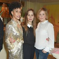 Dominique Tipper, Tara Fitzgerald and Mika Simmons
